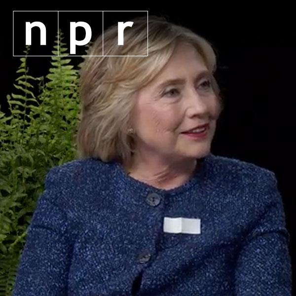 WATCH: Clinton deadpans on 'Between Two Ferns'