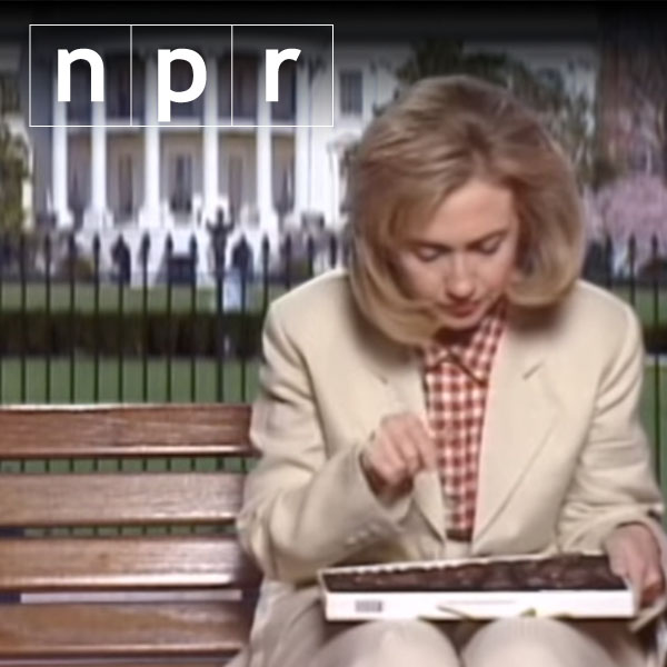 20 years before '2 Ferns,' Clinton played Forrest Gump