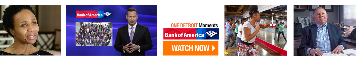 One Detroit Moments by Bank of America - Watch Now