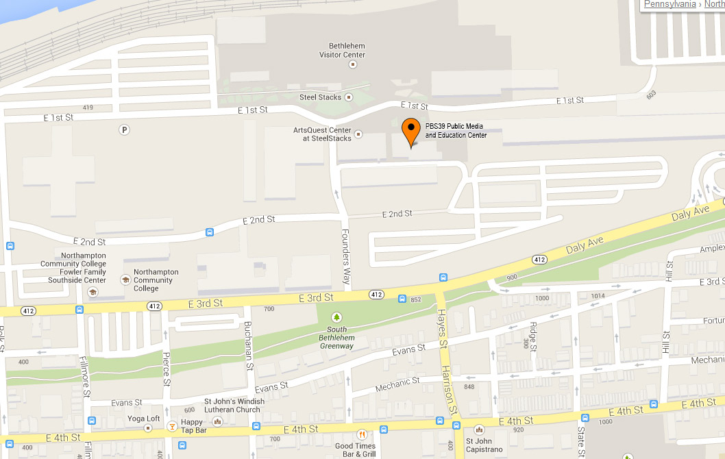 Our Location S39 Public Media and Education Center