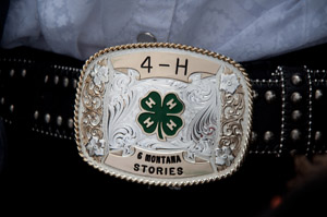 Title card for 4-H Six Montana Stories