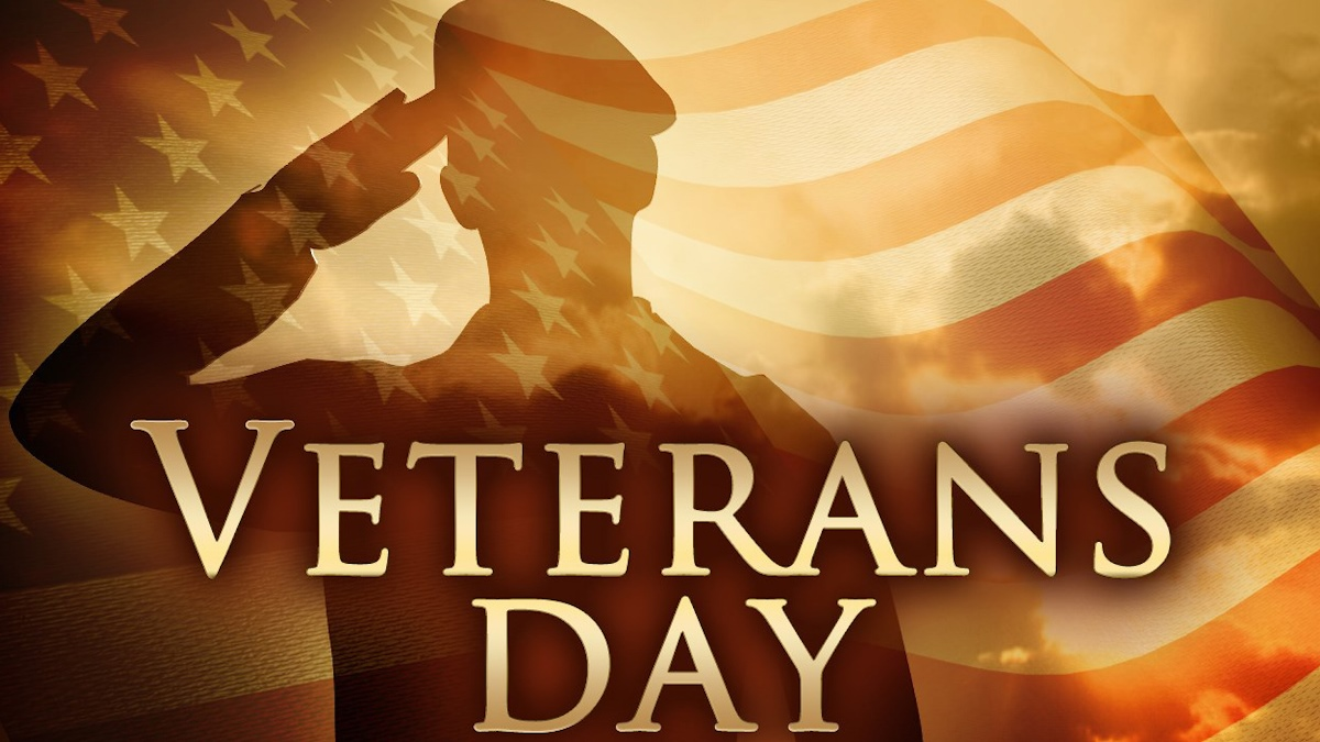 Veterans Day - Nov. 10, 2017