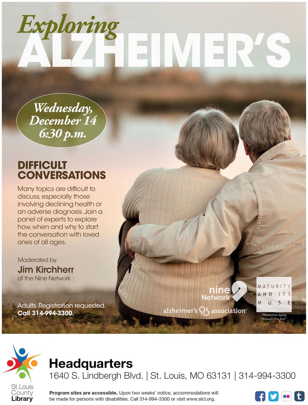 Exploring Alzheimer's: Difficult Conversations