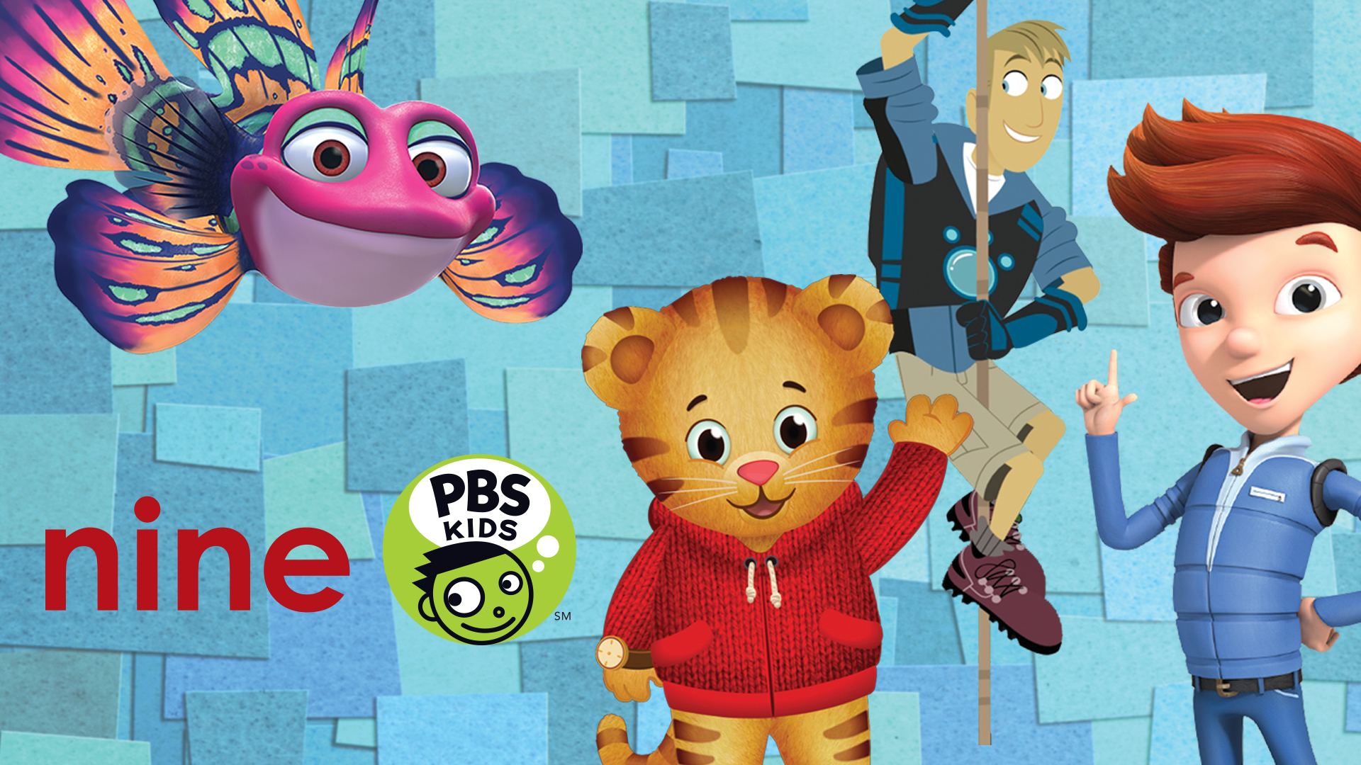 Nine PBS KIDS