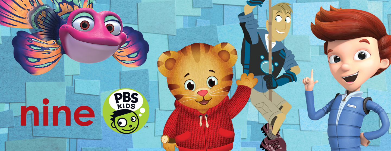 Nine PBS KIDS