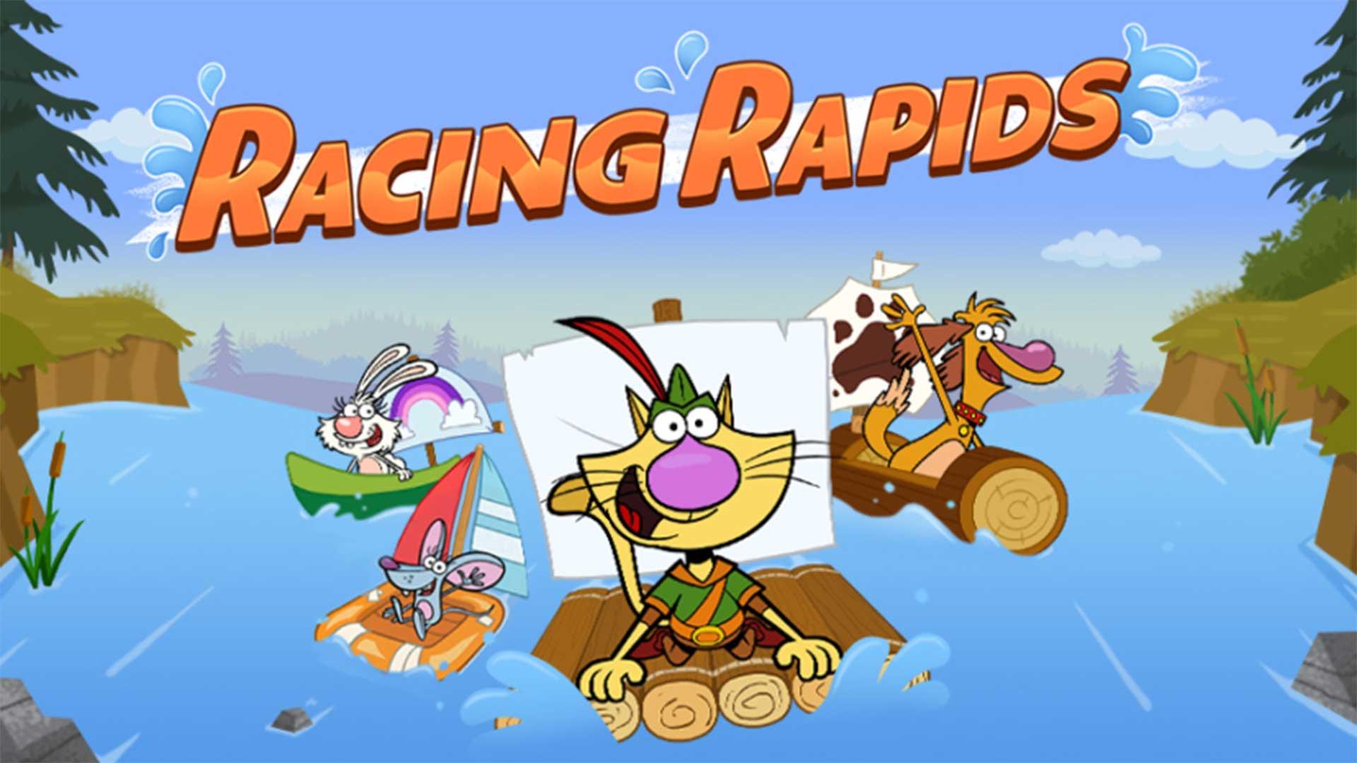 Nature Cat | Racing Rapids