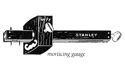 Gauge, Morticing