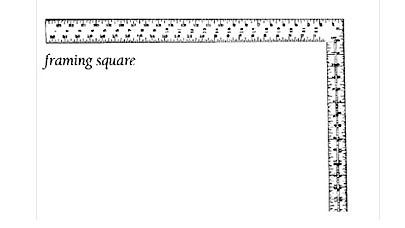 Square, Framing