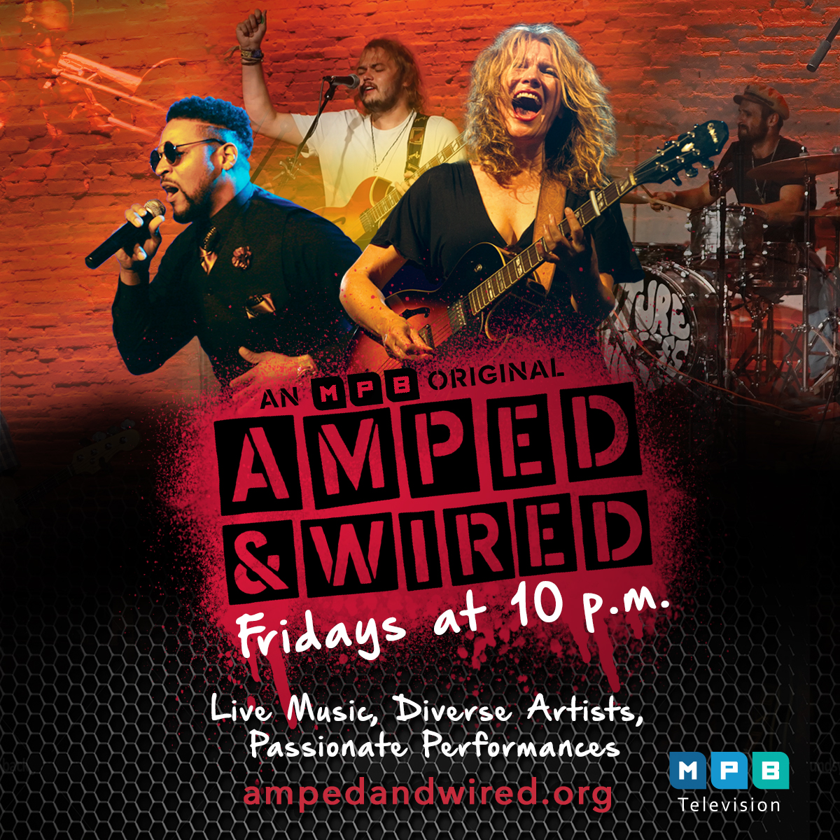 New Episodes of Amped & Wired Begin Friday, October 20 at 10PM on MPB Television