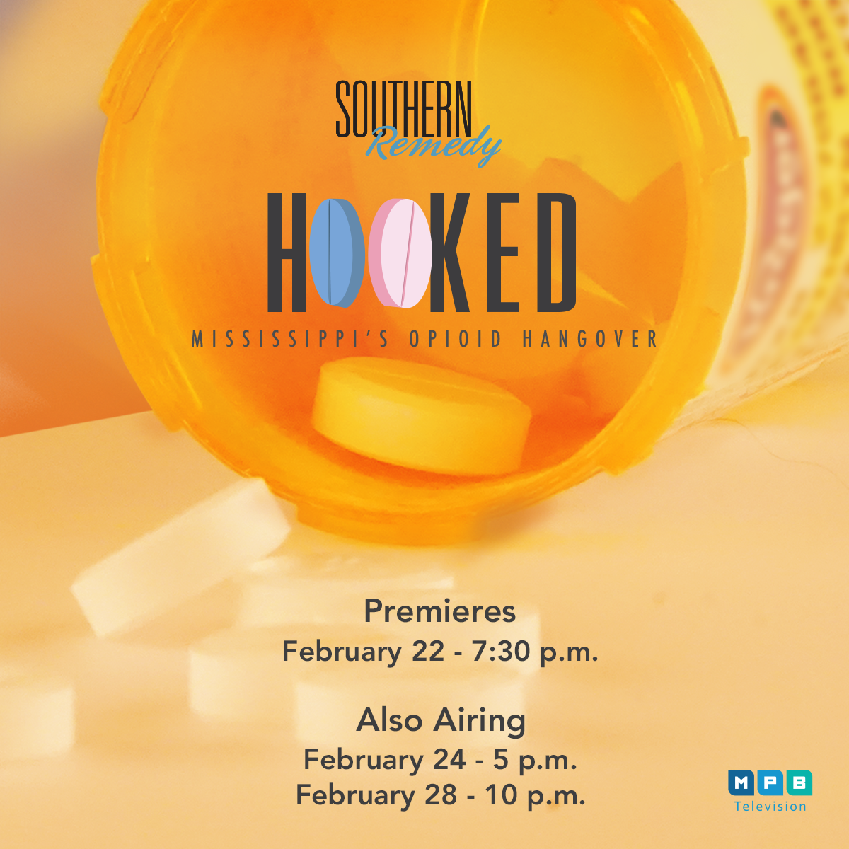 Watch the special Southern Remedy Series, Hooked: Mississippi's Opioid Hangover