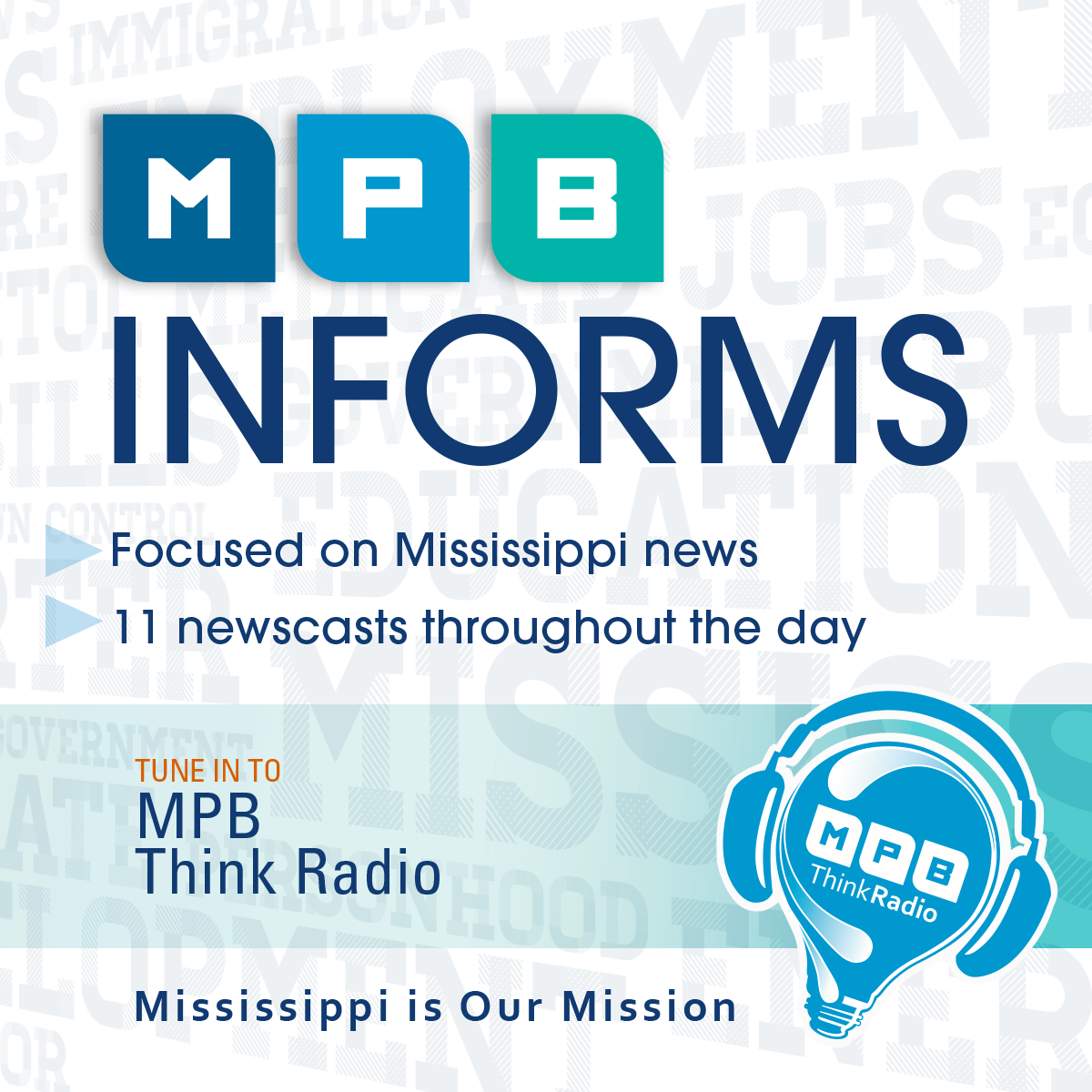 MPB keeps Mississippians informed on the latest news