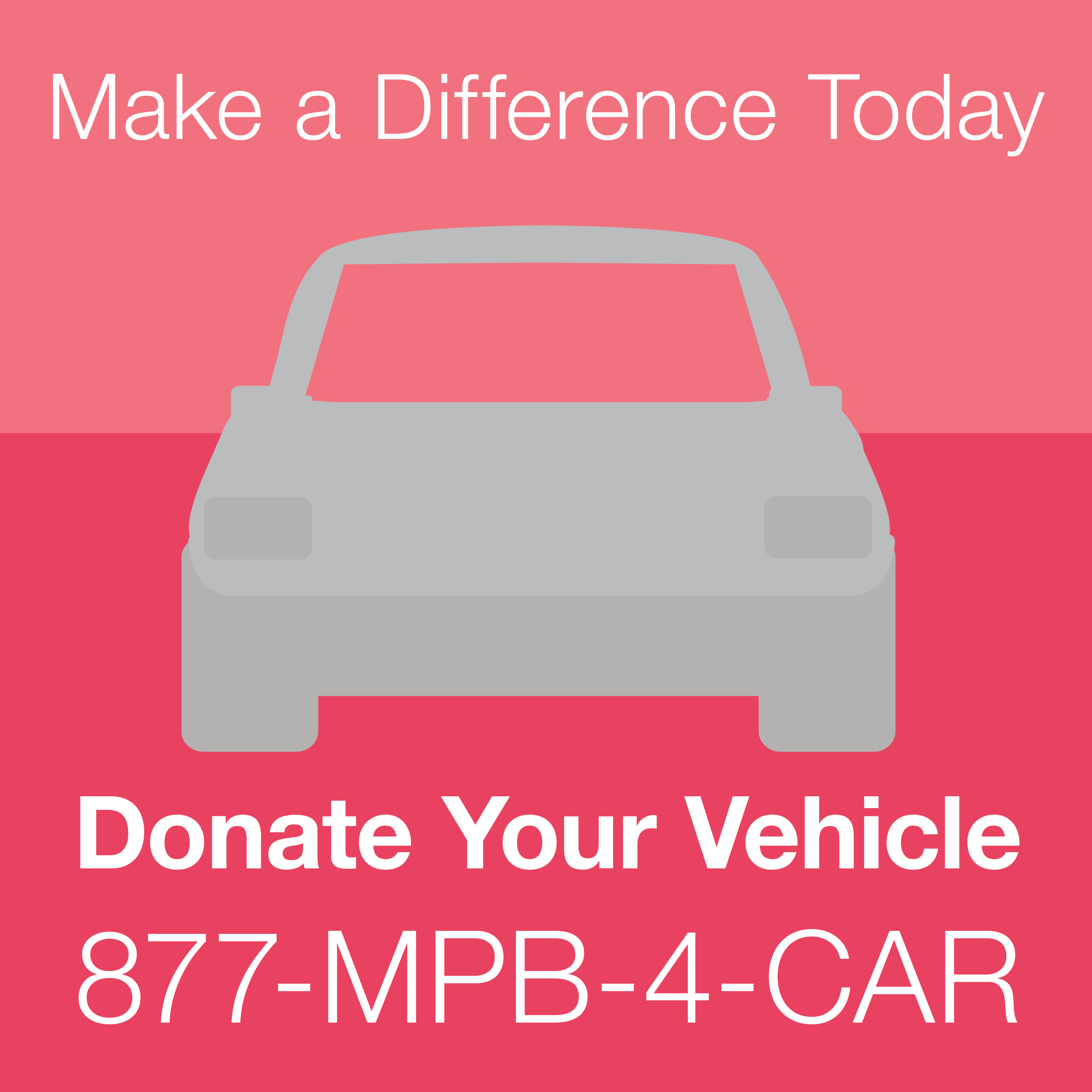 Support MPB by donating your old vehicle on Giving Tuesday, November 28!