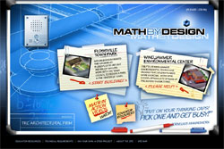 An image representing part of a math project developed by MPT, called Math by Design