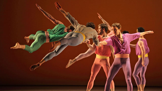 L'Allegro with the Mark Morris Dance Company