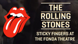 Rolling Stones: Sticky Fingers at the Fonda Theater