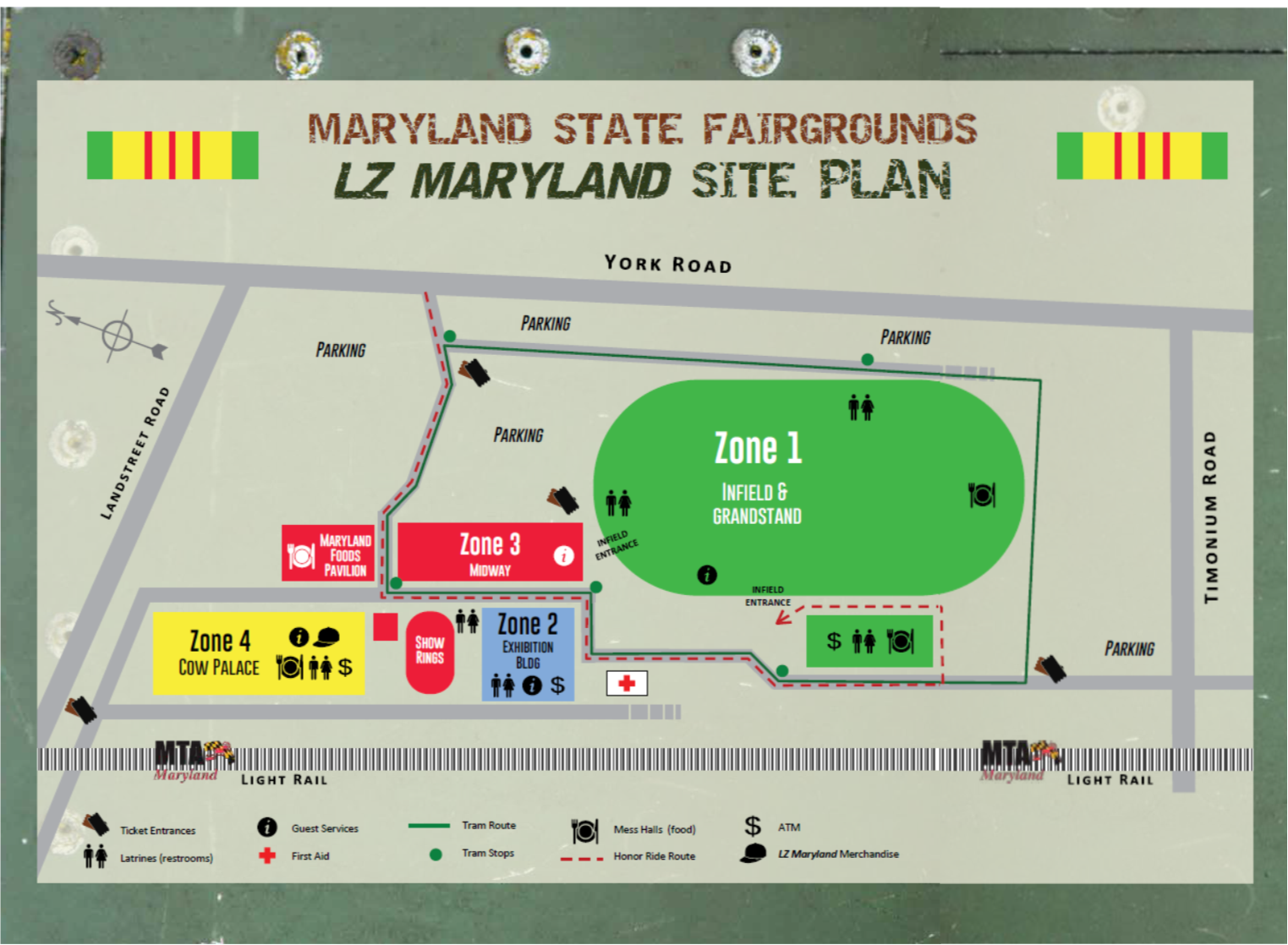 LZ Maryland Site Plan