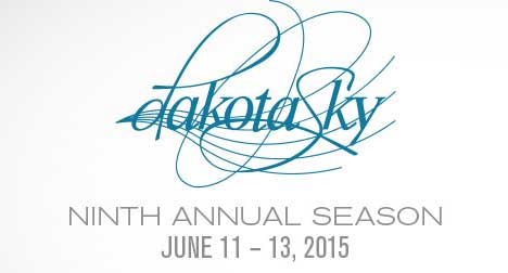 Dakota Sky International Piano festival logo image