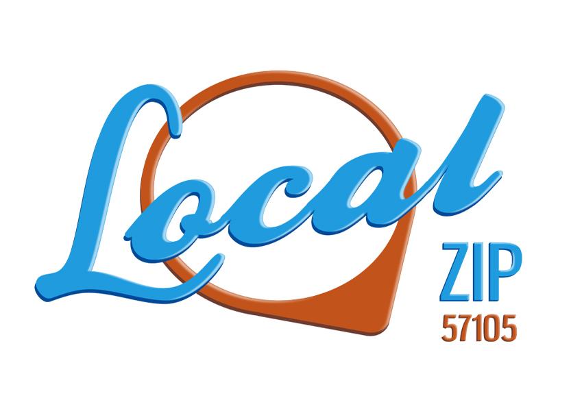 local zip 57105 logo