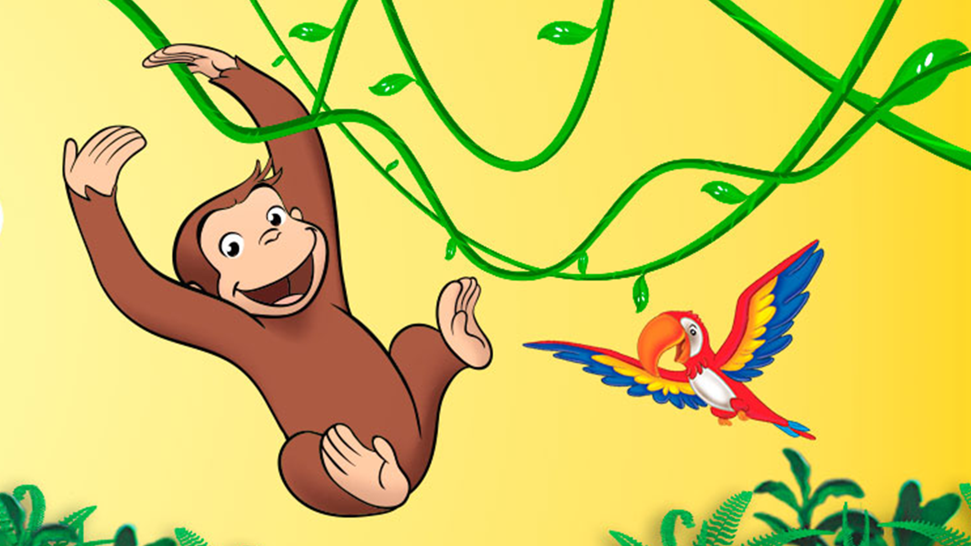 Curious George's Recycling Challenge (Ages 4 & under)