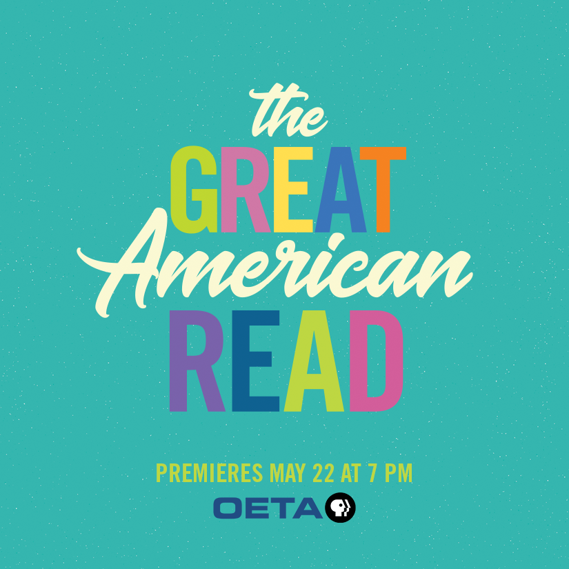 Ad for The Great American Read, a new series dedicated to determining America's most loved book.