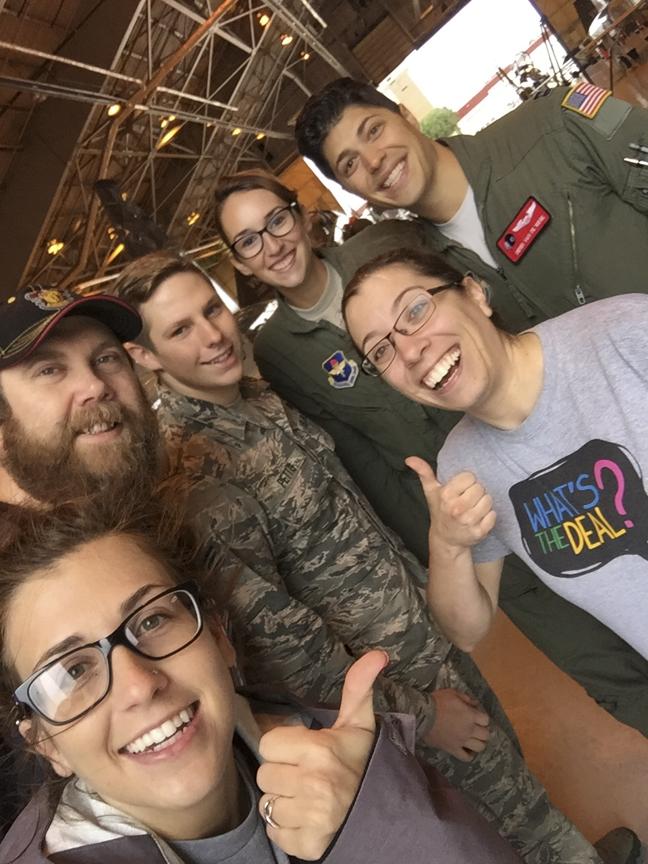 Vance AFB group selfie
