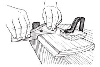 Cut the shoulder with a fillister plane, then chisel and plane the quarter round, finishing with a scraper.
