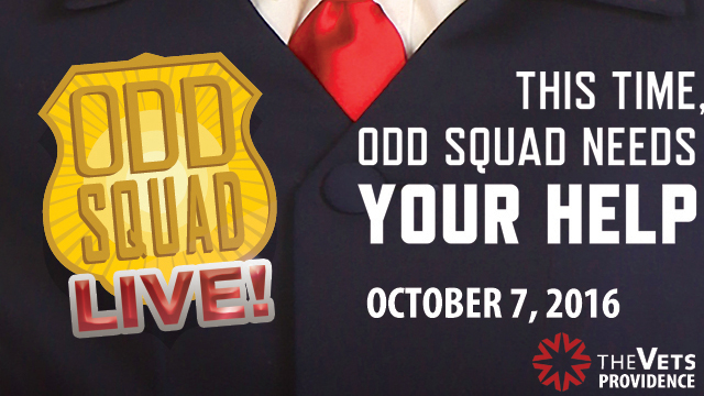 Experience Odd Squad Live! on Friday, October 7 at 6:00 pm at the Veterans Memorial Auditorium