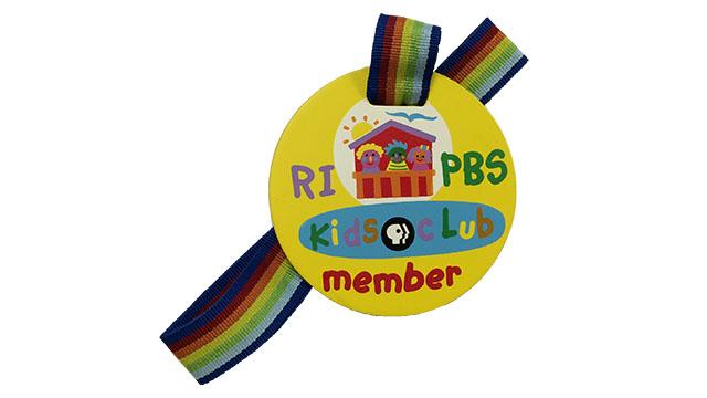 Rhode Island PBS Kids Member Medal