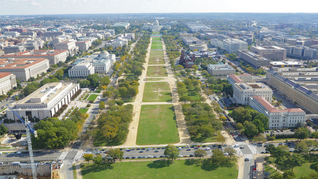 The National Mall - America's Front Yard