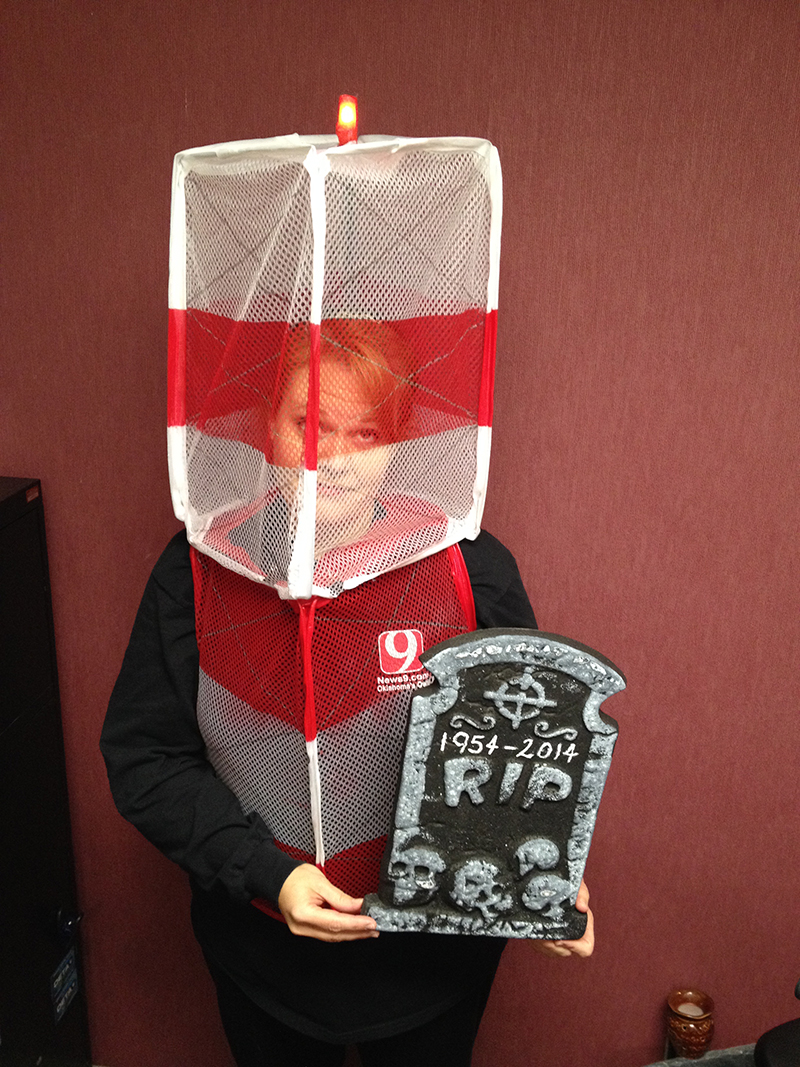 Holly Emig's Tower Halloween Costume