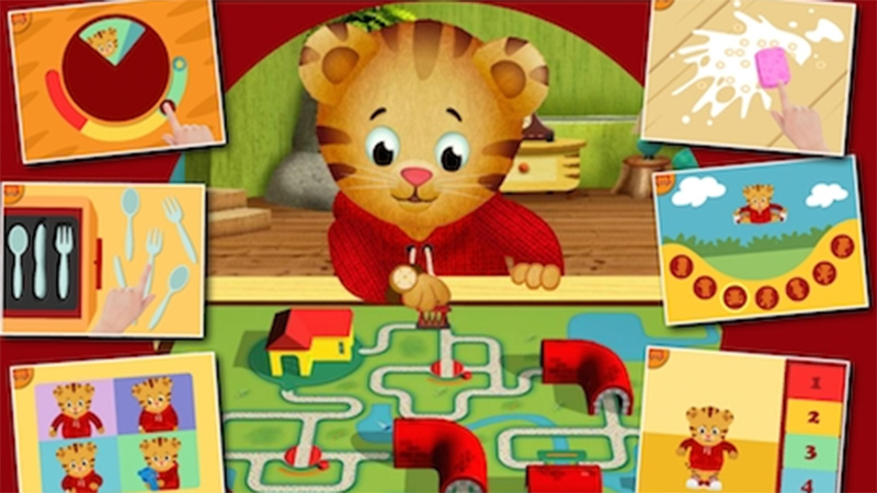 Daniel Tiger's Grr-ific Feelings iPad App