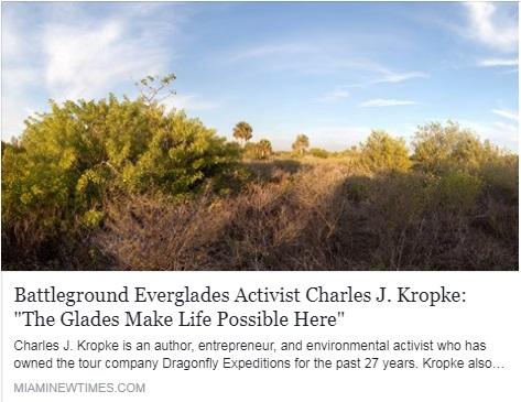 Battleground Everglades - Miami New Times Article