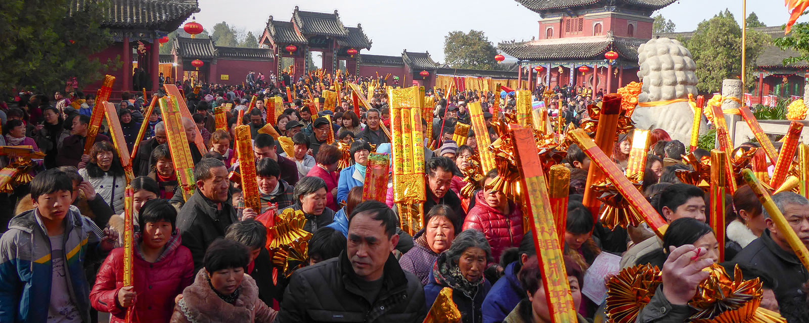 Temple fair in Zhoukou