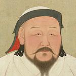 portrait of Khubilai Khan
