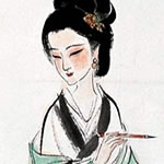 painting of Li Qingzhao