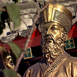 sculpture of Matteo Ricci