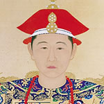 portrait of young Emperor Kangxi