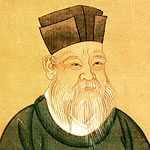 portrait of Zhu Xi