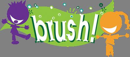 BRUSH! Logo
