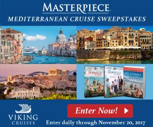 Masterpiece Mediterranean Sweepstakes