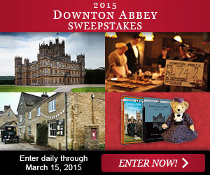 The 2015 Downton Abbey Sweepstakes