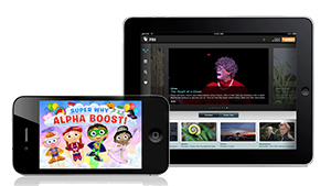Watch on the go with PBS Apps.