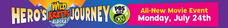 Wild Kratts Star in an All New Movie Event: Hero's Journey Monday, July 24!