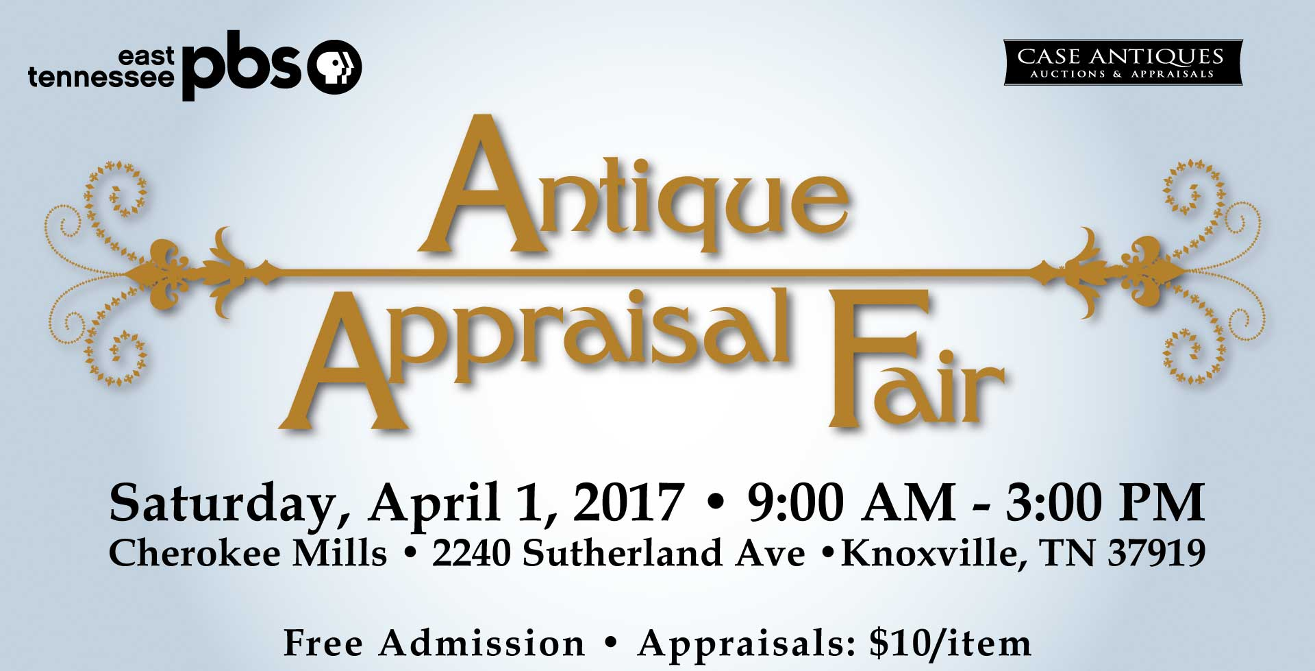 East Tennessee PBS Presents the Antique and Appraisal Fair - April 1, 2017