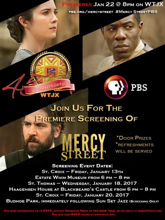 Mercy Street Flyer