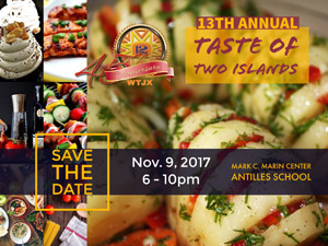 Save the Date - Taste of Two Islands