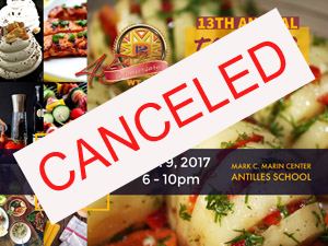 Taste of Two Islands Canceled