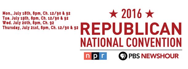Republican National Convention Banner