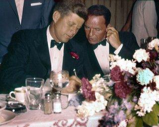 JFK and Frank Sinatra