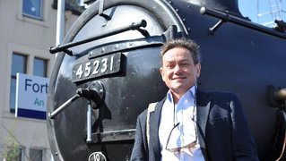 Julian Davidson -host of Great Railway Journeys